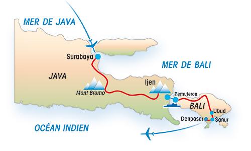 Circuit Java Bali Les Volcans Bromo Et Ijen Puis Lle De Un