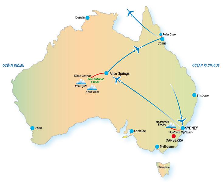 australie  u00e0 la carte - un voyage en australie